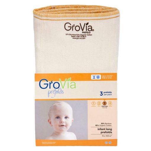 Prefold plenice GroVia - velikost 3