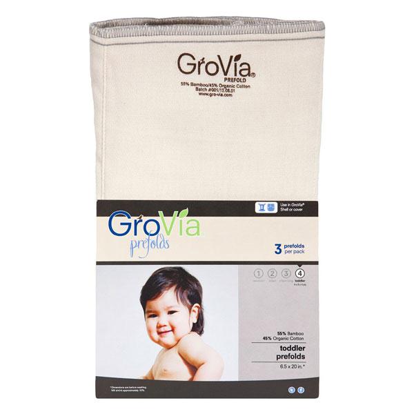 Prefold plenice GroVia – velikost 4 (3 kosi)