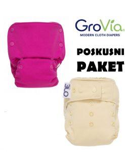 Preizkusni paket GroVia pralnih plenic