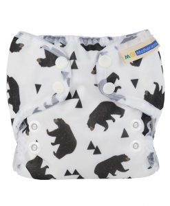 Pralna plenica Mother ease Wizard Duo Bear Bum