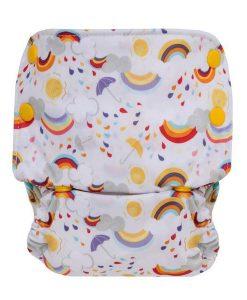 Pralna plenica GroVia All in One Rainbow Baby