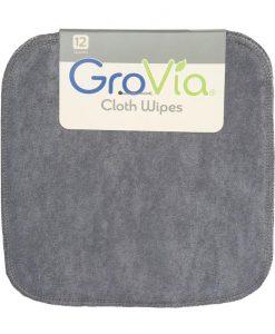 GroVia robčki iz blaga (12 kosov) Cloud