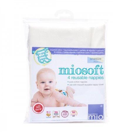 Prefold plenice Bambino Mio MioSoft 4kosi
