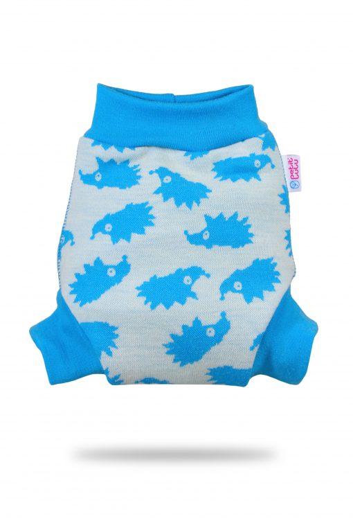 Petit Lulu prekrivne hlačke iz volne Turquoise Hedgies