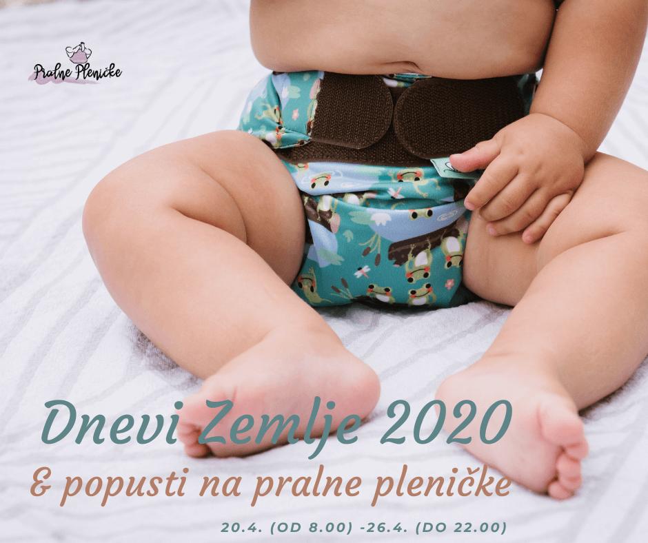 DNevi Zemlje 2020 in Popusti na pralne pleničke