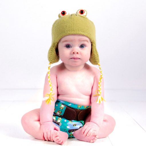 Pralna plenica TotsBots EasyFit Star 5 Little Speckled Frogs