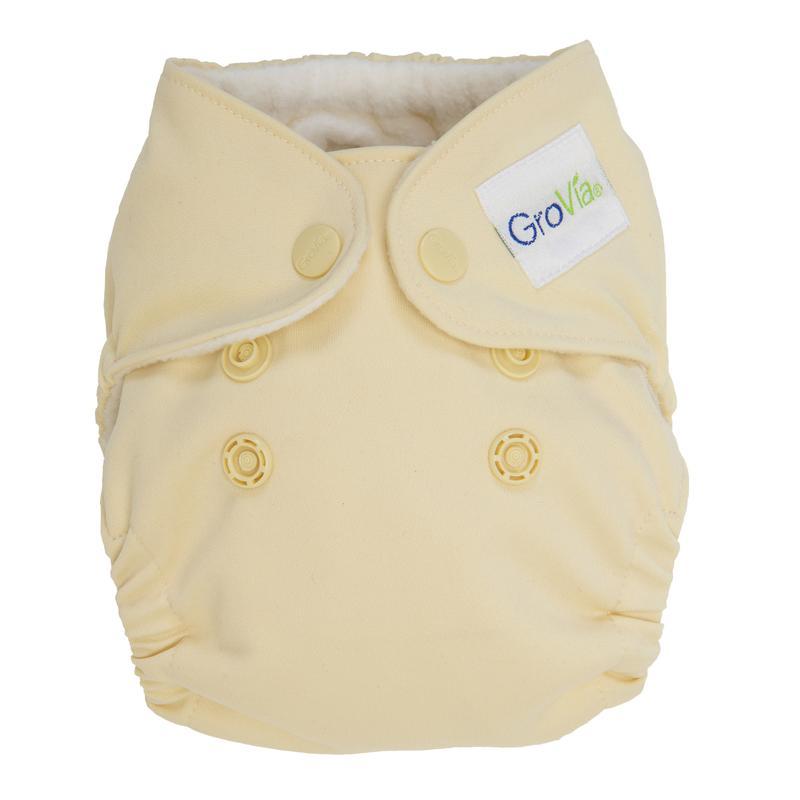Pralna plenica GroVia Aio Newborn Vanilla