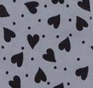 Hearts Grey