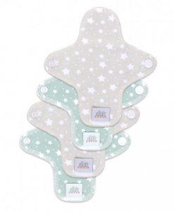 Pralni vložki Ella's House - Mini Stars Cloud Beige