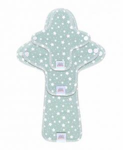 Pralni vložki Ella's House - preizkusni paket Stars Cloud Blue
