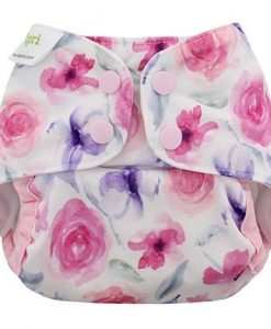 Pralna plenica BlueBerry Capri Newborn Rose